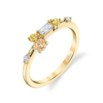 Parade Design 18k Yellow Gold Diamond Ring