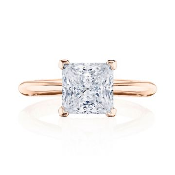 Tacori 18k Rose Gold RoyalT Solitaire Ring