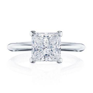 Tacori Platinum RoyalT Solitaire Diamond Engagement Ring
