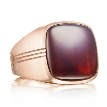 Tacori 18k Rose Gold Legend Gemstone Men's Ring