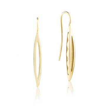 Tacori 18k Yellow Gold The Ivy Lane Drop Earrings