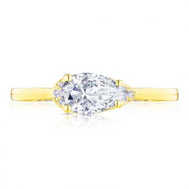 Tacori 18k Yellow Gold Solitaire Diamond Engagement Ring