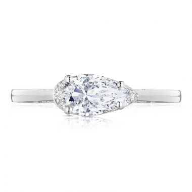 Tacori Platinum Solitaire Diamond Engagement Ring