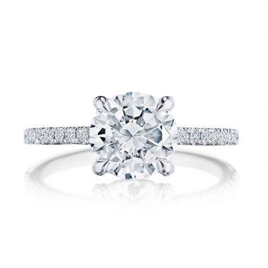 Tacori Platinum Diamond Straight Engagement Ring