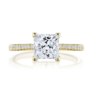Tacori 18k Yellow Gold Diamond Straight Engagement Ring