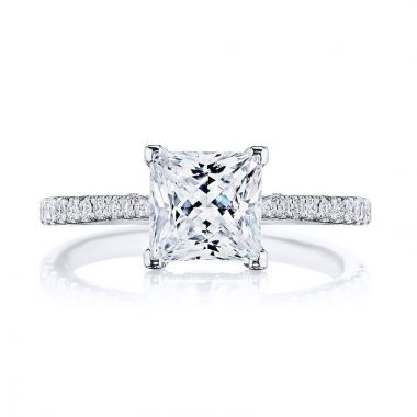 Tacori Platinum Diamond Straight Engagement Ring
