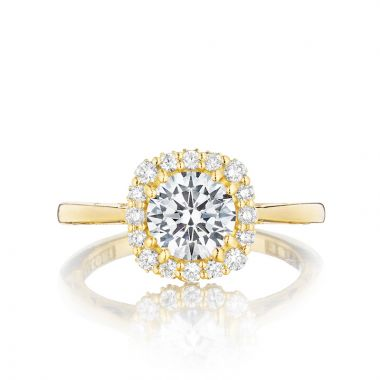 Tacori 18k Yellow Gold Full Bloom Halo Ring