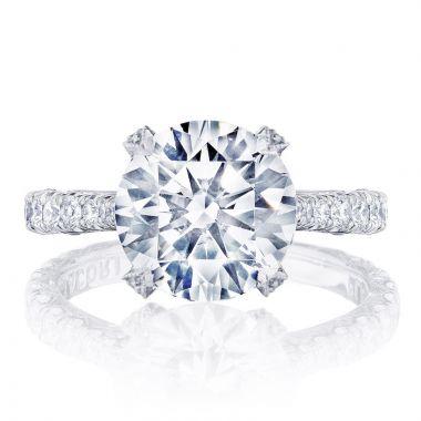 Tacori Platinum RoyalT Diamond Straight Engagement Ring