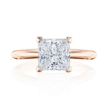 Tacori 18k Rose Gold RoyalT Solitaire Ring