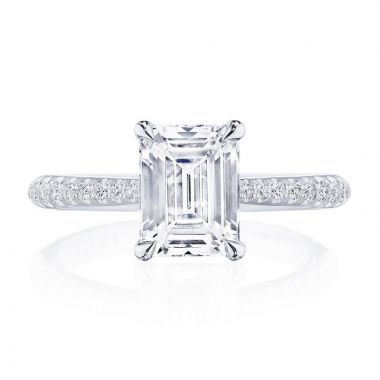 Tacori Platinum RoyalT Diamond Straight Engagement Ring
